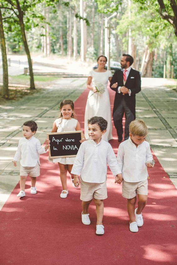 ¿Invitar a niños al matrimonio? 1