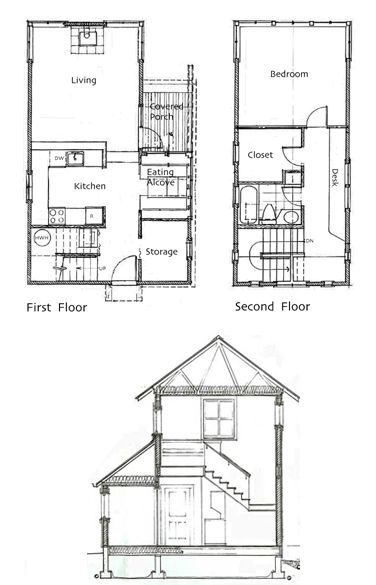 One Bedroom House And Small Houses On Pinterest