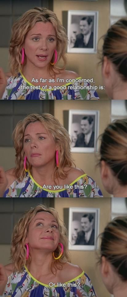 funny, relationship, samantha, samantha jones, satc: