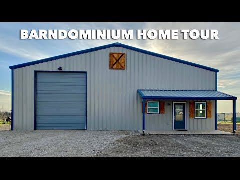 1162 1250 Sqft Completed Barndominium Home Empty House Tour Texas Best Construction Youtube In 2020 Barndominium House Tours New House Plans