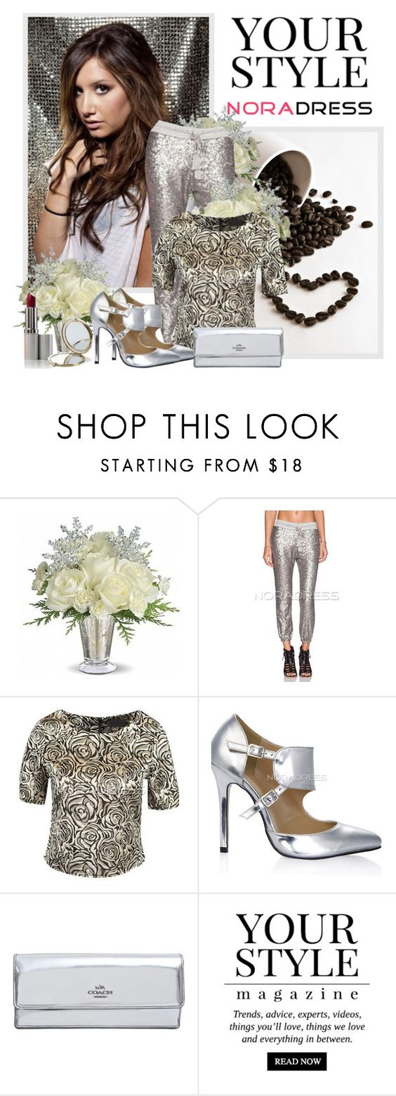 """""""Noradress"""" by sneky ❤ liked on Polyvore featuring Coach, Pussycat and Henri Bendel"""