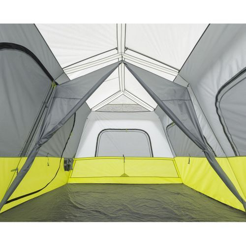 Core 10 Person Instant Cabin Tent With Screen Room Cabin Tent Tent A Frame Cabin