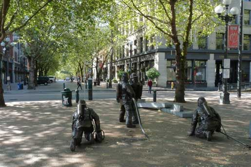 Occidental Park and Mall