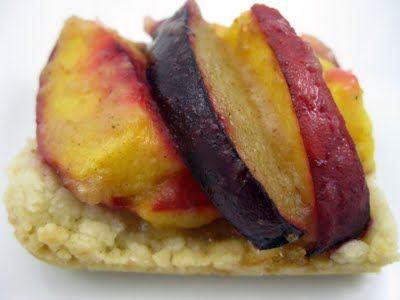Plum & nectarine tart | Appetizers | Pinterest | Tarts