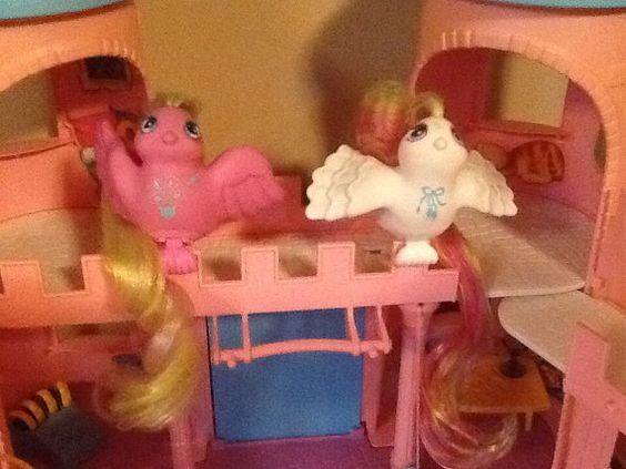 Vintage Hasbro FAIRY TAIL BIRDS Pony Friends by OgreberryCottage, $9.00