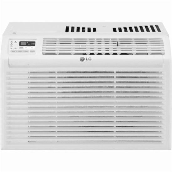Lg 260 Sq Ft Window Air Conditioner White Lw6017r Window Air Conditioner Air Conditioner Best Window Air Conditioner