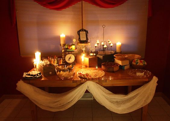 Food Tables Harry Potter And Harry Potter Wedding On