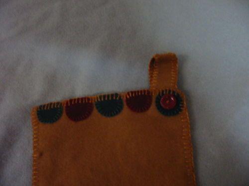 penny rug stocking primitive in Primitives | eBay