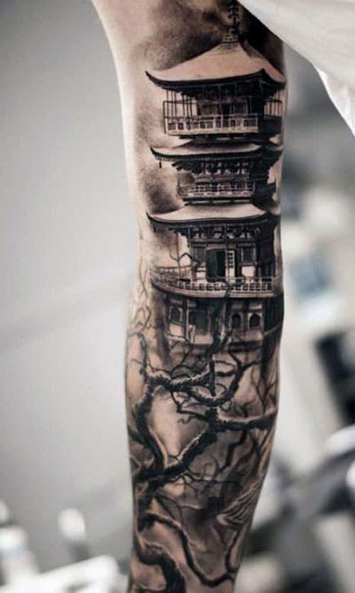 Full Inner Arm Tattoo Best Bicep Tattoos For Men Cool Inner Arm