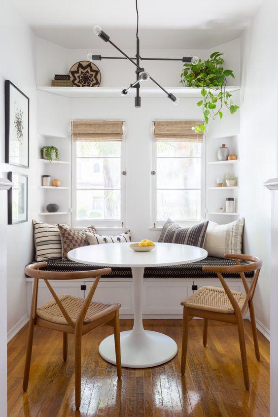 Cozy Breakfast Nook Bold & Colorful Nook