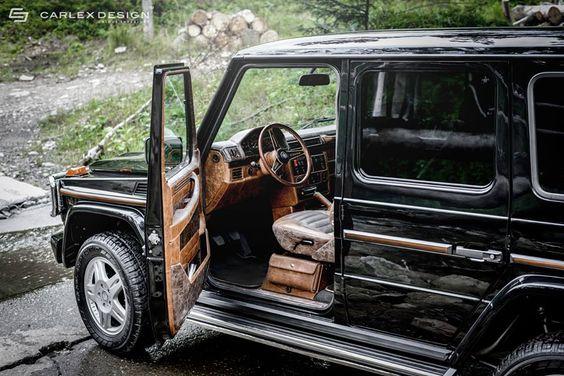 Mercedes-Benz G-Class Interior Given A Retro Look on http://www.benzinsider.com