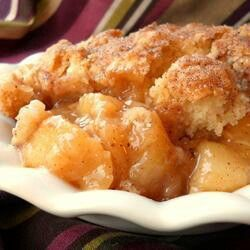 Old fashion Peach Cobbler
