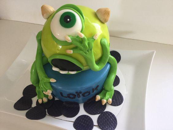 Monster inc. Gâteau d'anniversaire