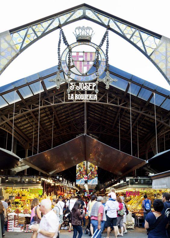 Among the 100 best city restaurants in the world: El Quim de la Boquería, a stall in #Barcelona's Boquería market. #Spain #food