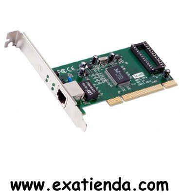 Ya disponible Tarj. red Approx pci gigabit   (por sólo 15.99 € IVA incluído):   - Tarjeta de Red PCI Gigabit - Chipset: Realtek RTL8169SC - Autonegociación - Auto MDI/MDIX -Conexión: PCI - 10/100/1000 Half Duplex y 20/200/2000 Mbps Full Duplex - Plug and Play - Temperatura soportada en funcionamiento: 0ºC~40ºC (32ºF~104ºF) - Humedad soportada en funcionamiento:10%~90% sin condensació  - P/N: APPPCI1000V2  Garantía de 24 meses.  http://www.exabyteinformatica.com/ti
