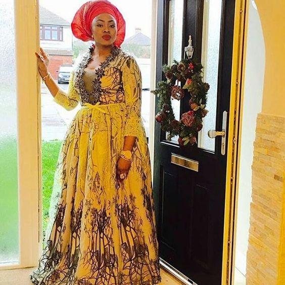 Party Rocker! @aisha_akande_ #LovelyOutfit #AnkaraForever #NaijaLadiesAreKillingIt #9naijaBrides