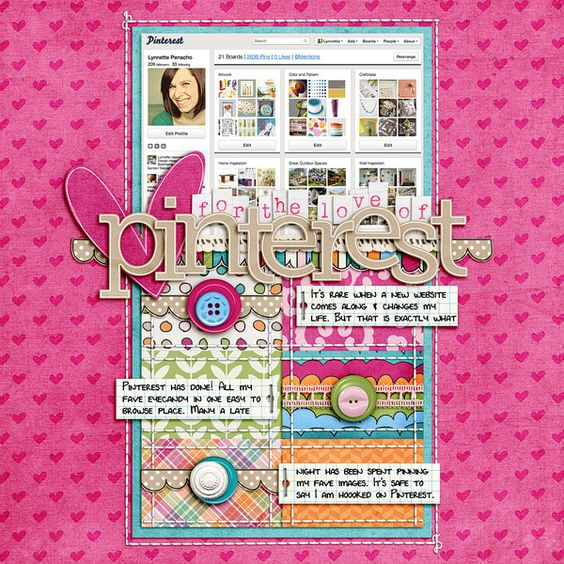 Must make one of these layouts - too cool!!  #scrapbooking #layouts