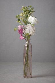 Capsule Vase: Wedding Ideas, Capsule Vase, Sweet Simple, Wedding Table Numbers, Cool Ideas, Flowers Vase, Sweet Table
