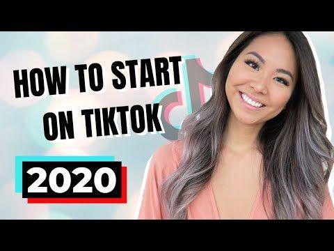 How To Start On Tiktok 2020 For Beginners Youtube In 2021 Beginners Youtube Starting