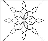 Free Snowflake Quilting Stencil : Pinterest The world s catalog of ideas