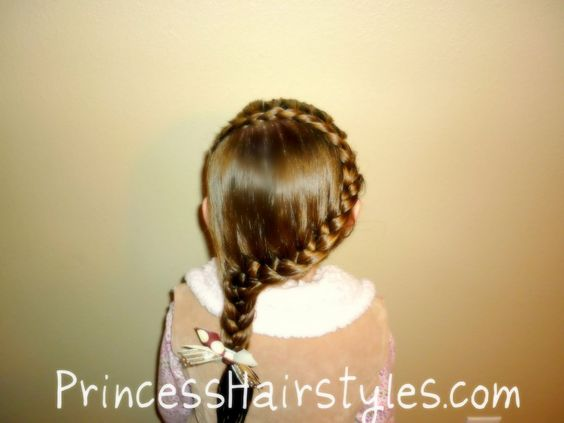 French Braid | Hairstyles For Girls - Hair Styles - Braiding - Princess Hairstyles