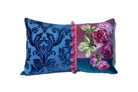Boho Patchwork Pillow Shabby Chic Decor Home Decor Throw
