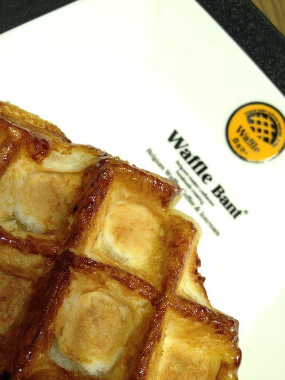 Yummy waffle :D