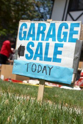 Garage Sale Tips for the Non-Garage Saler
