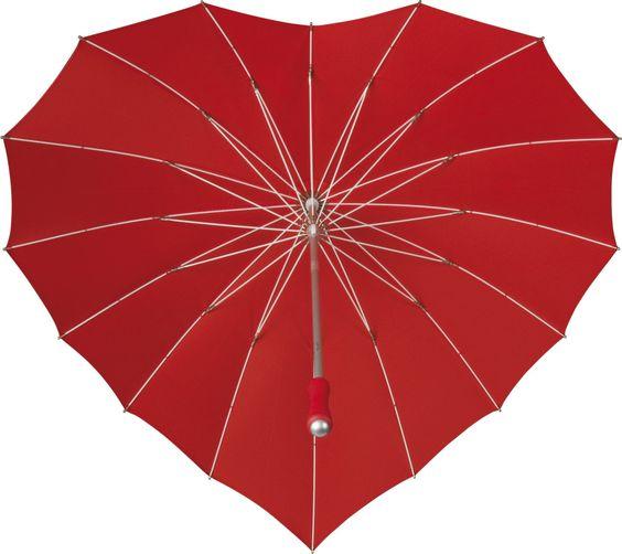 Trouwparaplu #Paraplu Heart bedrukken #huwelijksbedankjes