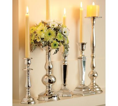 Candlesticks Pottery Barn And Candle Holders On Pinterest
