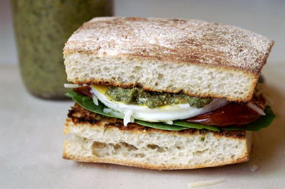 mediterranean egg sandwich + slow-roasted tomatoes: a panera bread copycat Two recipes! I thought about throwing the slow roasted tomatoes into a separate post, but I didn't want to drag things out too much; you already have a separate post for the ciabatta part of this a...