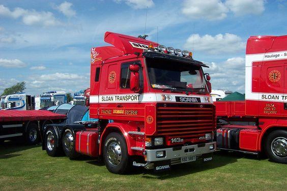 Classic Scania 143 by Ellis171