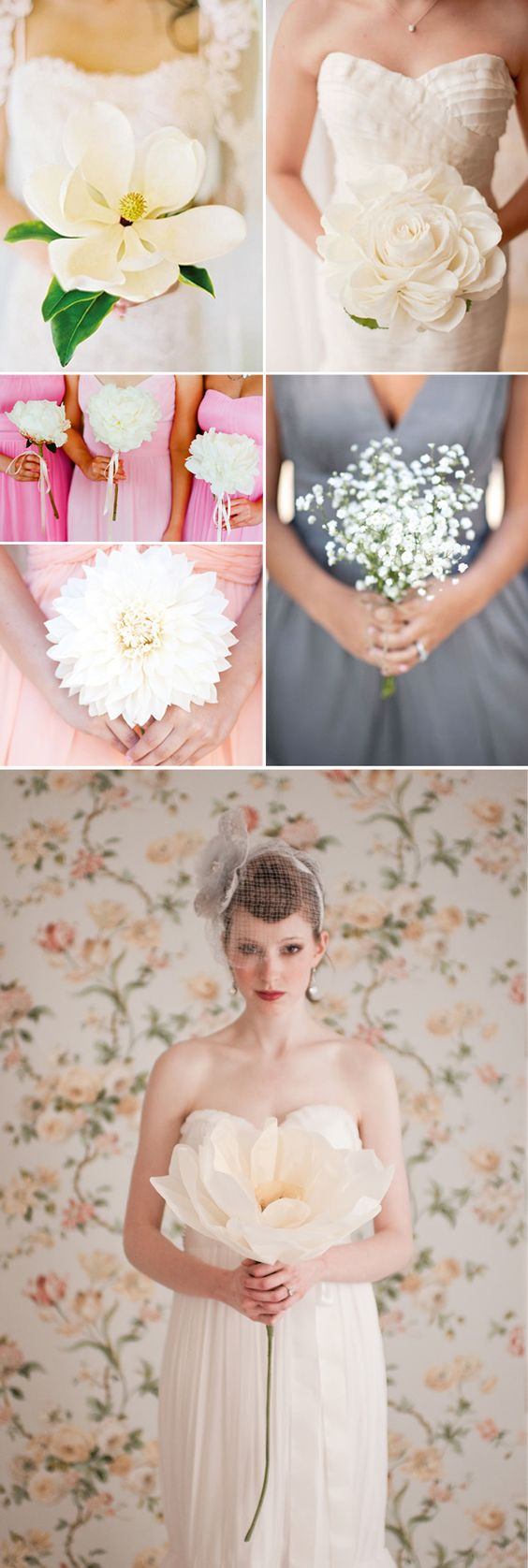 Praise Wedding » Wedding Inspiration and Planning » 15 Unique Single Bloom Bouquets:
