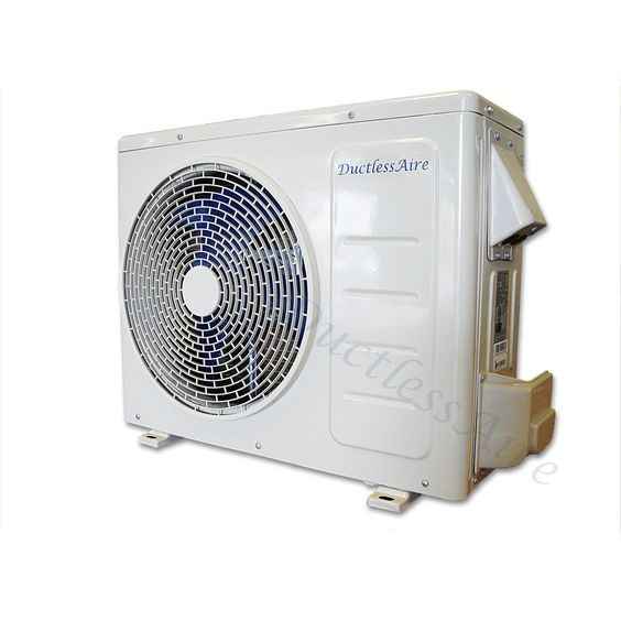 Ductlessaire 12000 Btu 22 Seer Energy Star Ductless Mini Split Air Conditioner And Heat Pump Variable Speed Inverter 220 Heat Pump Ductless Mini Split Ductless