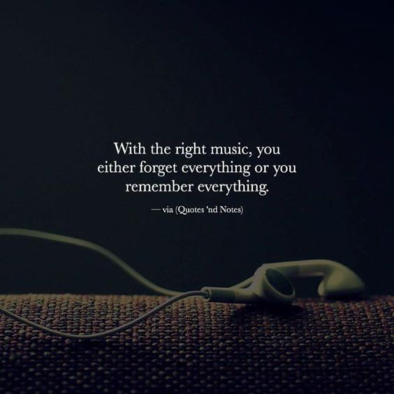 With the right music you either forget everything or you remember everything. via (http://ift.tt/2eWhSMw)