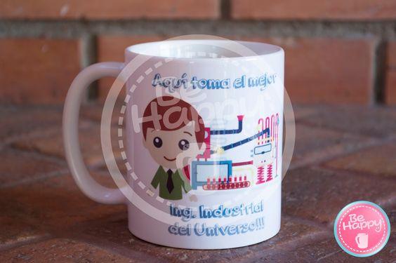 Be happy: Mugs personalizados Bucaramanga