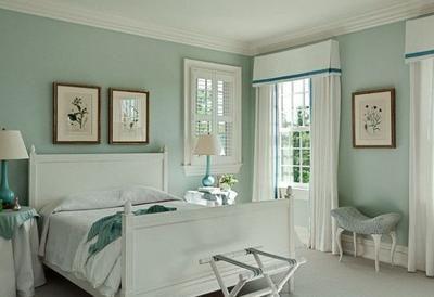 Bekijk de foto van ThisIsCindy met als titel Romantische slaapkamer idee. Tref: wit, blauw, slapen, bed, munt, mint, groen, blauw. en andere inspirerende plaatjes op Welke.nl.