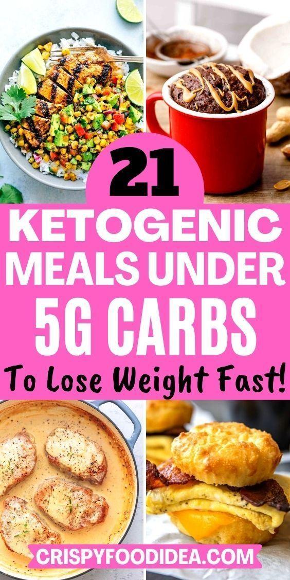Keto Recipes Under 5 Carbs