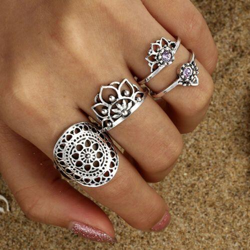 Lotus mandala ring