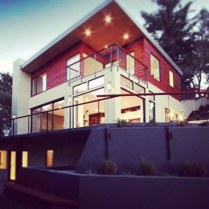 Shine from the inside out! Modern home design and architecture.