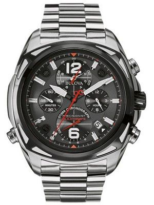 Bulova Precisionist Chronograph 300M 98B227 Men's Watch