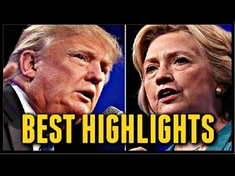 Hillary VS Trump Second Presidential Debate I Best Moments & Highlights #2