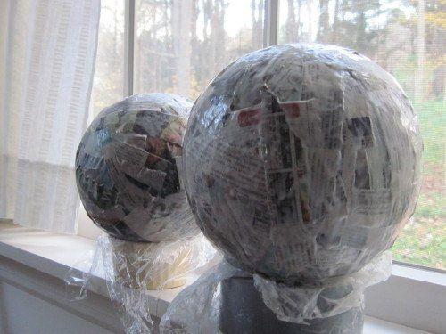 Pinterest the world s catalog of ideas for Paper mache christmas