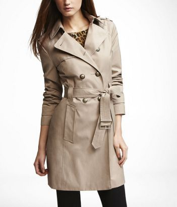 CLASSIC TRENCH COAT at Express