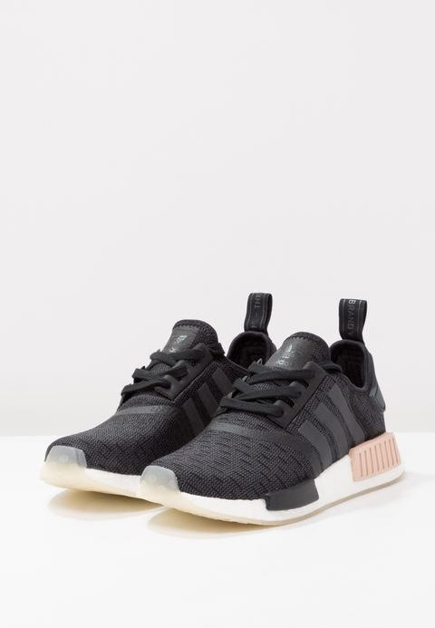NMD_R1 Sneaker low core blackcarbonfootwear white