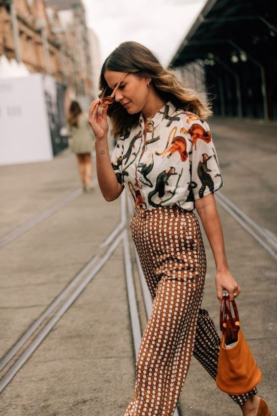 Prints on prints Fall Look. #womensfashion #fallfashion #fallstyle #styleblogger