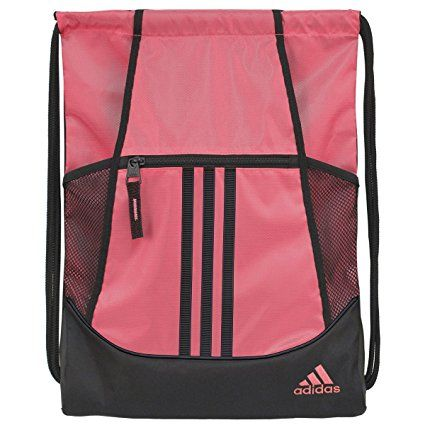 Amazon.com : adidas Alliance II Sackpack : Gym Drawstring Bags ...