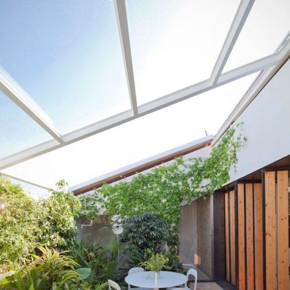 Pflanzen-wintergarten-ideen-glasdach-buffet-skandinavisch ... Pflanzen Wintergarten Design Ideen