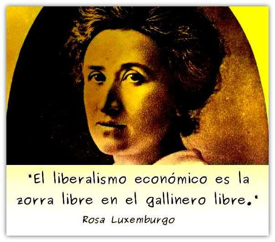 Image result for rosa luxemburgo frases