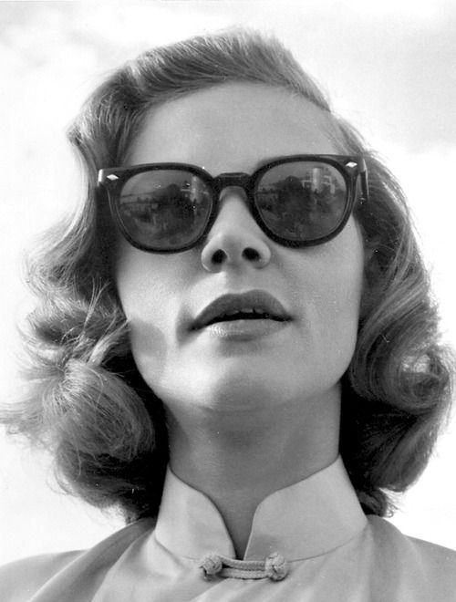 Lauren Bacall - You just don't see many images with vintage sunglasses.
